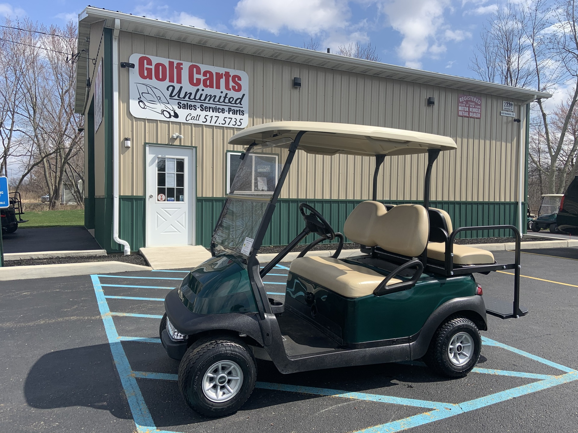 2012 Club Car Precedent Electric with rear seat