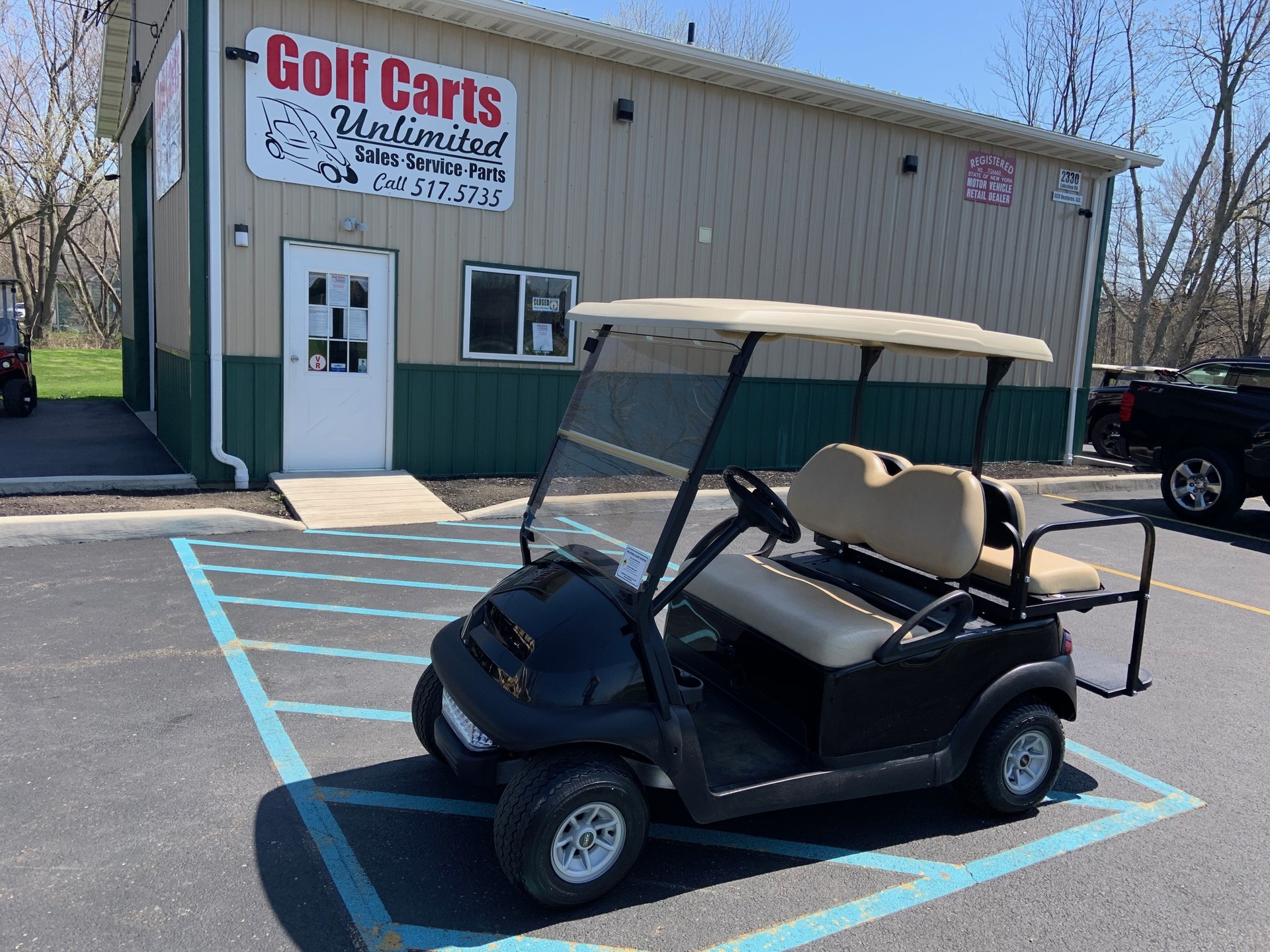 2012 Club Car Precedent Black Electric Cart