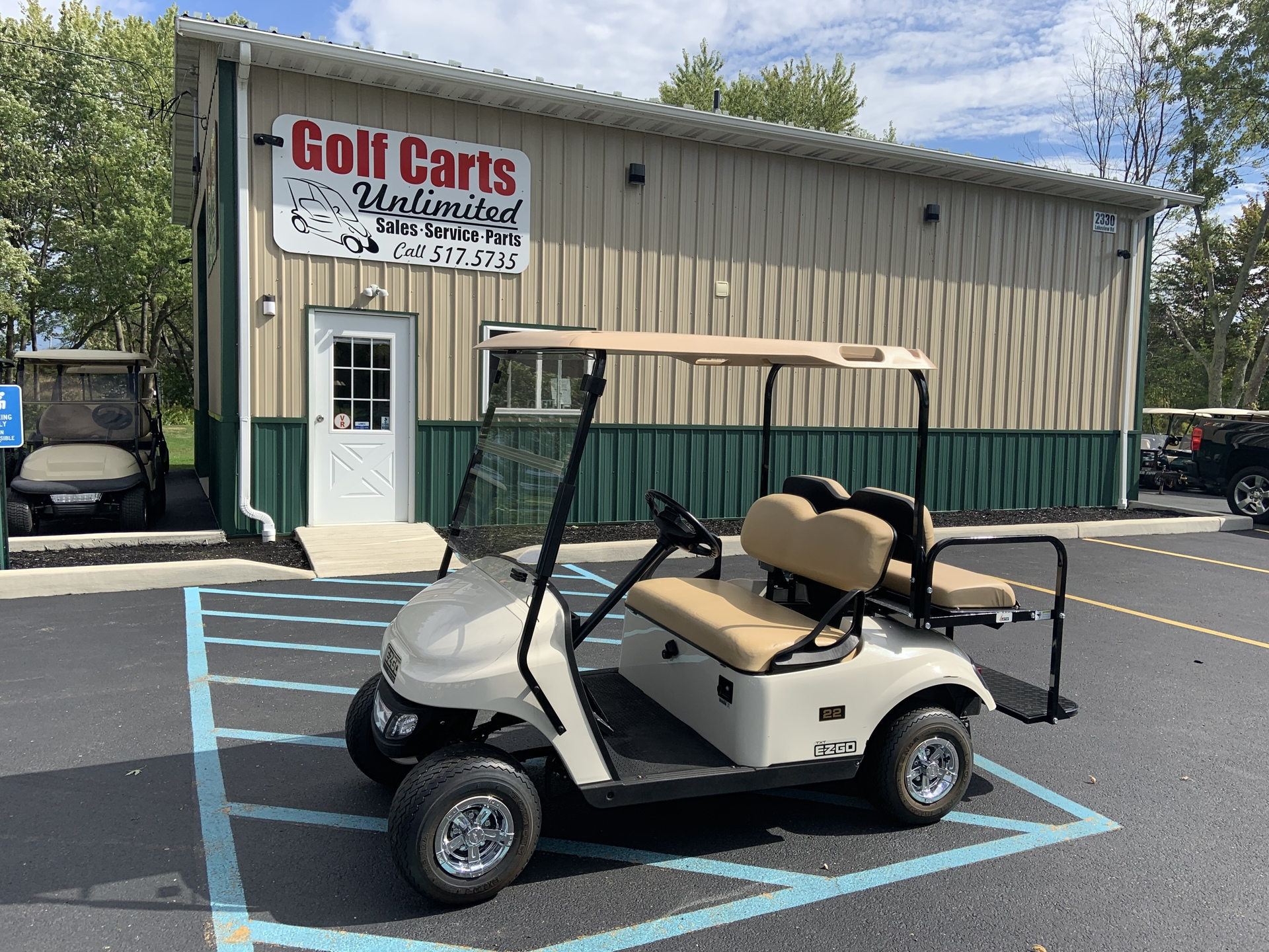 2015 EZGO TXT Gas Golf Cart