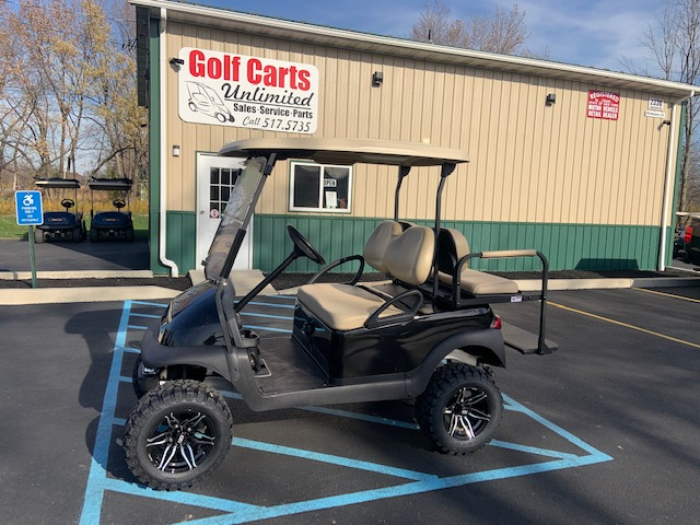 2016 Yamaha Drive Lifted Red Gas Golf Cart