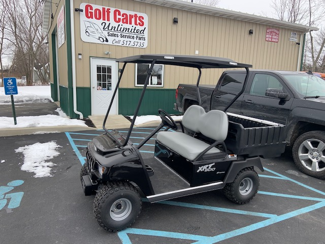 2021 Club Car XRT Gas Black