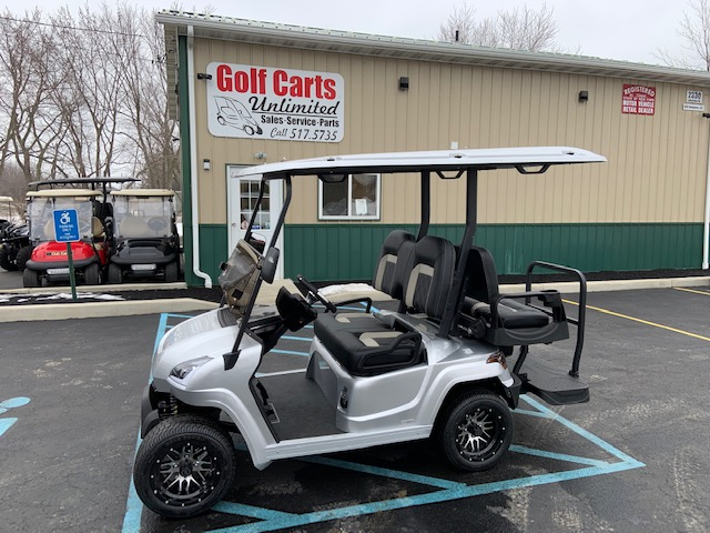 2021 STAR EV Sirius Silver Golf Cart