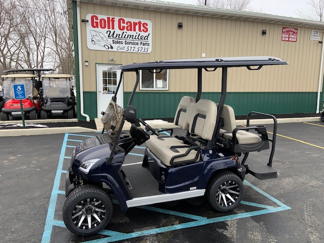 2021 STAR EV Sirius Blue Golf Cart