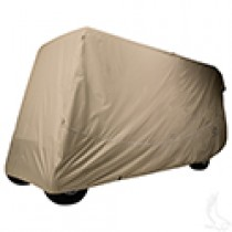 Storage Cover for 6 Passenger Carts with Up to 119 Inch Top, Nylon