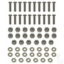 Stainless Steel Fender Flare Hardware Kit