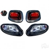 EZGO TXT 2014 and up Factory Style Light Kit - Halogen Bulbs
