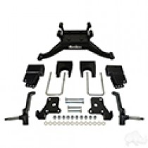 RHOX BMF 6 Inch A-Arm Lift Kit, EZGO RXV Electric 08 thru Feb 2013