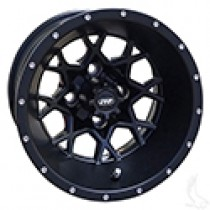 Wheel ITP Hurricane, Matte Black 12x78, 2 to 5 offset