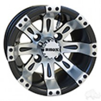 Wheel RHOX Vegas, Machined Matte Black 10x7, ET-25